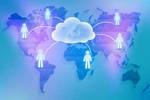 The cloud storage in enterprise companies worldwide.