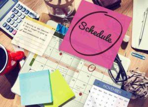 Schedule Calender Planner Organization Remind Concept